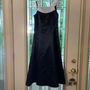 Black and white Girls Gown